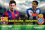 Barca 4-1 Espanyol (KT): Messi nhay mua tren san khau derby Catalonia