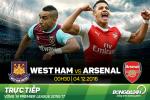 West Ham 1-5 Arsenal (KT): Man tham sat kinh hoang cua Alexis
