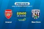 Arsenal vs West Brom (22h ngay 26/12): Chat thep cua Phao thu o dau?