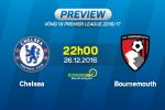 Chelsea vs Bournemouth (22h ngay 26/12): Bai kiem tra can thiet cua Conte