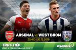 Arsenal 1-0 West Brom (KT): Giroud cuu roi Phao thu