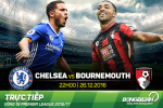 Chelsea 3-0 Bournemouth (KT): The Blues chinh thuc vo dich mua Dong