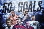 Cristiano Ronaldo va cot moc dang nho