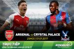 Arsenal 2-0 Crystal Palace (KT): Sieu pham bo cap cua Giroud dua Phao len thu 3