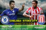 Chelsea 4-2 Stoke (KT): Ruot duoi hap dan