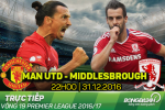 MU 2-1 Middlesbrough (KT): Chien thang nguoc kich tinh ngay cuoi nam