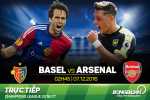 Basel 1-4 Arsenal (KT): Lucas Perez lap hattrick giup Phao thu dung nhat bang