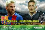 Barca 4-0 Monchengladbach (KT): Ngay cua kep phu Arda Turan