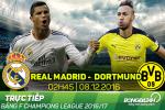 Real 2-2 Dortmund (KT): Danh roi chien thang vao phut chot, Los Blancos ngam ngui dung thu 2