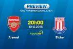 Arsenal vs Stoke (22h ngay 10/12): Niem tin tu Alexis Sanchez