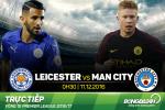 Leicester 4-2 Man City (KT): That bai nang ne thu 2 lien tiep cua Man xanh