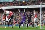 Video clip ban thang: Arsenal 2-1 Leicester (Vong 26 Premier League 2015/16)