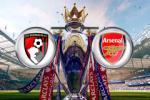TRỰC TIẾP Bournemouth 0-2 Arsenal (Hiệp 1): Ozil và Chamberlain liên tục lập công