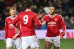 Hang kem chat luong Memphis Depay toa sang trong mau ao U21 Man Utd