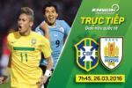 Brazil 2-2 Uruguay: Thêm một kết quả thất vọng của Selecao