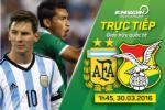 Argentina 2-0 Bolivia: Messi nổ súng, vũ công Tango nhẹ nhàng giành 3 điểm