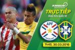 Paraguay 2-2 Brazil: Màn ngược dòng siêu kịch tính của Selecao