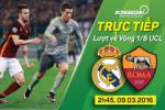 Real Madrid 2-0 (4-0) AS Roma (KT): Doi bong thanh Rome hien ngang roi Champions League