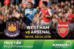 West Ham 3-3 Arsenal (KT): Derby London qua hap dan