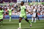 Video clip ban thang: Swansea 1-1 Man City (Vong 38 Premier League 2015/16)
