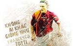 Chi co mot Van Gogh va khong ai khac giong Totti