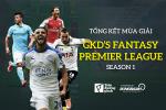 Cong bo trao thuong Giai dau GKD's Fantasy Premier League season 1