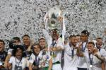 Hinh anh Real Madrid nang chiec cup vo dich Champions League