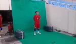 Hậu trường thú vị khi tiền vệ Thành Lương quay video giới thiệu ĐT Việt Nam