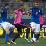 Video clip bàn thắng: Italia 1-0 Scotland (Giao hữu quốc tế 2016)