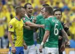 Video clip bàn thắng: CH Ireland 1-1 Thụy Điển (Bảng E VCK Euro 2016)