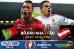 Bo Dao Nha 0-0 Ao (KT): Ronaldo van te hai, Seleccao nguy nan!