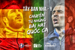Tay Ban Nha - Y: Chuyen tu nhung bai hat Quoc Ca