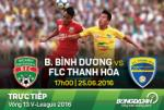 Bình Dương 0-3 Thanh Hóa (KT): Nhà ĐKVĐ thua mất mặt trên sân nhà