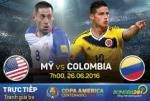 Mỹ 0-1 Colombia (KT): Los Cafeteros đoạt vị trí thứ 3 Copa America 2016 đầy thuyết phục