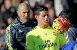 Zidane ra dieu kien de o lai Real cho James Rodriguez