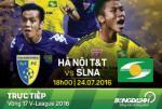 Hà Nội T&T 1-0 SLNA (KT): Chủ nhà thắng nghẹt thở