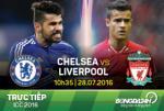 TRUC TIEP Chelsea vs Liverpool ICC 2016 10h35 ngay 28/7