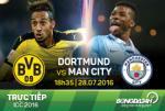 TRỰC TIẾP Dortmund 0-0 Man City (Hiệp 1): Đôi công hấp dẫn