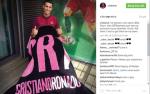 Ronaldo giới thiệu sản phẩm mới mang thương hiệu riêng