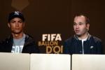 Quả bóng vàng FIFA 2016 không có chỗ cho Ronaldo