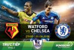 Watford 1-2 Chelsea (KT): Lai thang nghet tho nho Diego Costa