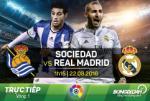 Sociedad 0-3 Real Madrid (KT): Mo man tung bung