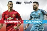Infographic: Ibrahimovic vs Kun Aguero - Cuoc dua ban thang o thanh Manchester