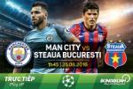 Man City 1-0 (6-0) Steaua: Chiến thắng nhạt để vào vòng bảng Champions League