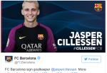CHÍNH THỨC: Barca chiêu mộ thành công Cillessen