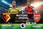 LINK XEM truc tiep Watford vs Arsenal 21h00 ngay 27/08