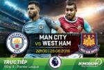 Man City 3-1 West Ham (KT): Goi ten Sterling