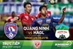 TRỰC TIẾP Quảng Ninh vs HAGL 18h00 ngày 28/8 (V-League 2016)