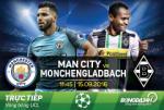 Man City 4-0 Moenchengladbach (KT): Ngay thi dau choi sang cua Sergio Aguero