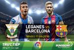 Leganes 1-5 Barca (KT): Tam tau M-S-N va vo mat tan binh